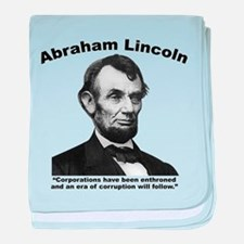 Lincoln: Corps baby blanket