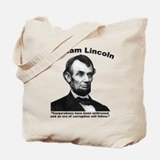 Lincoln: Corps Tote Bag