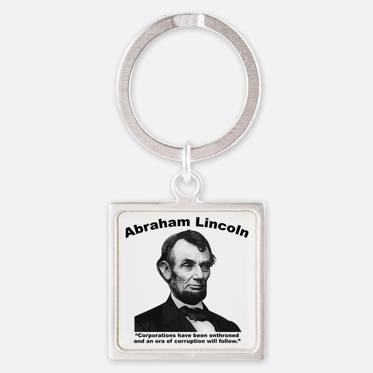 Lincoln: Corps Square Keychain