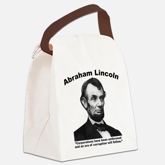 Lincoln: Corps Canvas Lunch Bag