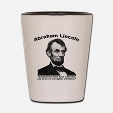 Lincoln: Corps Shot Glass