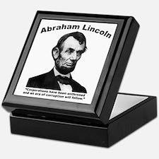 Lincoln: Corps Keepsake Box