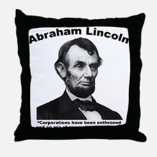 Lincoln: Corps Throw Pillow