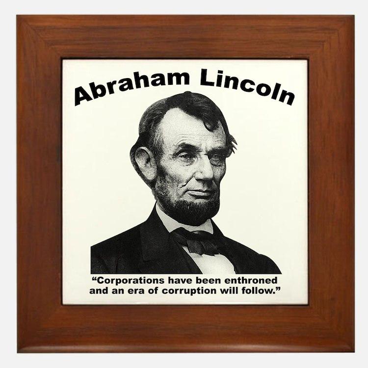 Lincoln: Corps Framed Tile