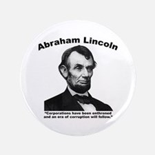 "Lincoln: Corps 3.5"" Button"