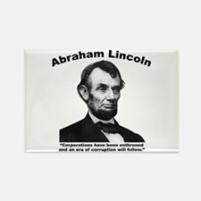Lincoln: Corps Rectangle Magnet