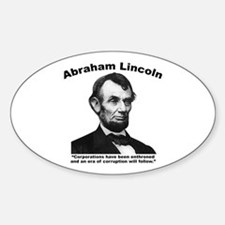 Lincoln: Corps Sticker (Oval)