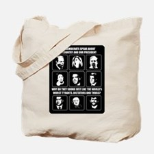 When Democrats Speak Tote Bag
