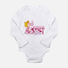 Sally Brown Long Sleeve Infant Bodysuit