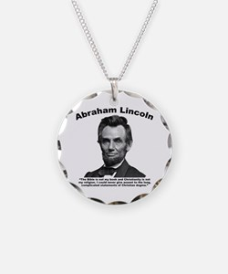 Lincoln: Bible Necklace