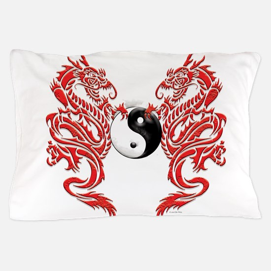 Dragons (W).png Pillow Case