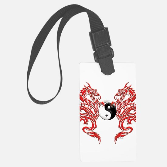 Dragons (W).png Luggage Tag