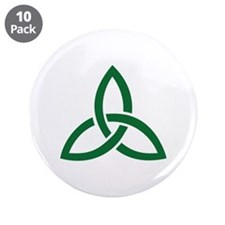 "Celtic knot 3.5"" Button (10 pack)"