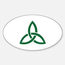 Celtic knot Sticker (Oval)