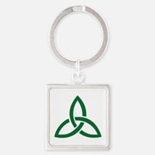 Celtic knot Square Keychain