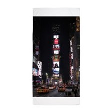 Times Square New York City Pro photo Beach Towel
