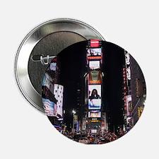 "Times Square New York City Pro photo 2.25"" Button"