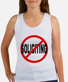 No Solicitation Women's Tank Top