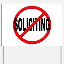 No Solicitation Yard Sign