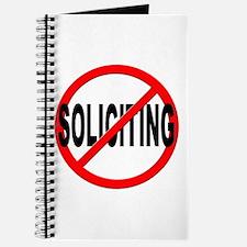 No Solicitation Journal