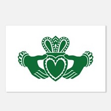 Celtic claddagh Postcards (Package of 8)