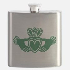 Celtic claddagh Flask