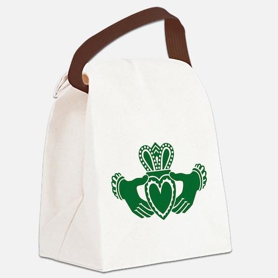 Celtic claddagh Canvas Lunch Bag