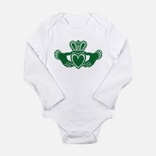 Celtic claddagh Long Sleeve Infant Bodysuit