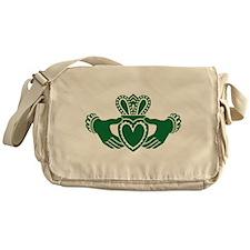 Celtic claddagh Messenger Bag