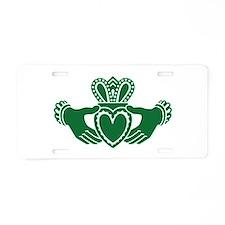 Celtic claddagh Aluminum License Plate