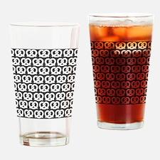 Gray and White Twisted Yummy Prestz Drinking Glass