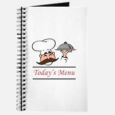 TODAYS MENU Journal