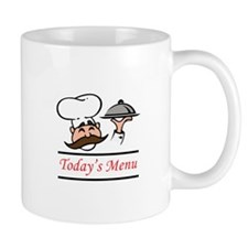 TODAYS MENU Mugs