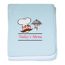 TODAYS MENU baby blanket