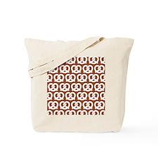 Sienna Twisted Yummy Prestzels Pattern Tote Bag