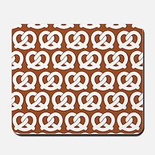 Sienna Twisted Yummy Prestzels Pattern Mousepad