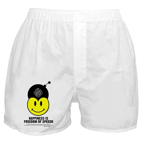 Freedom of Speech Boxer Shorts