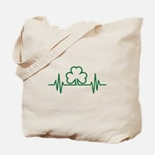 Shamrock frequency Tote Bag