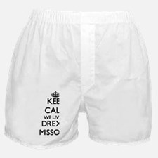 Keep calm we live in Drexel Missouri Boxer Shorts