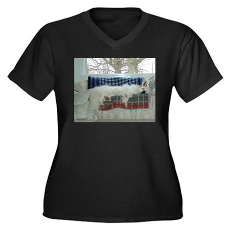 Great Pyrenees Plus Size T-Shirt
