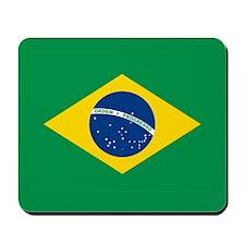 """Brazil Flag"" Mousepad"