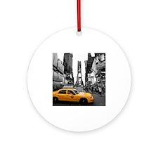 Times Square New York City - Pro Ornament (Round)
