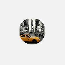 Times Square New York City - Pro photo Mini Button