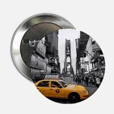 """Times Square New York City - Pro phot 2.25"""" Button"""