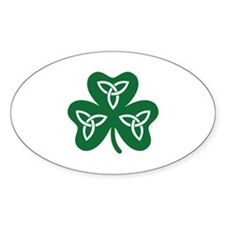 Shamrock celtic knot Decal