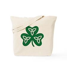 Shamrock celtic knot Tote Bag