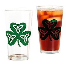 Shamrock celtic knot Drinking Glass