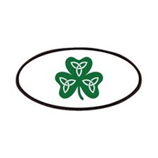 Shamrock celtic knot Patches