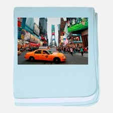 Times Square NYC Pro photo baby blanket