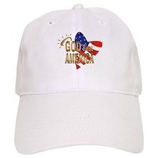 God Bless America Baseball Cap